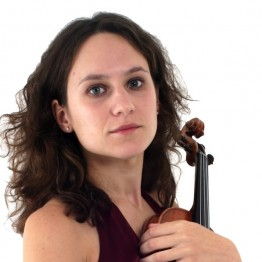 BCMG Violinist Alexandra Wood