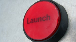 Red launch button