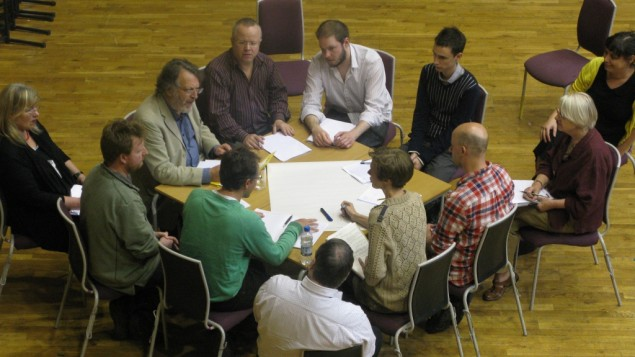 Teachers, Composers and Researchers discuss composition in the curriculum