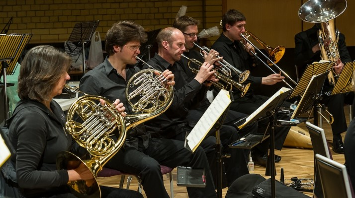 BCMG brass players