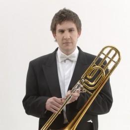 BCMG Trombonist Edward Jones