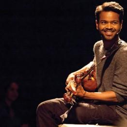 Sarod maestro Soumik Datta in performance