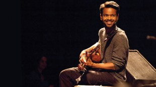 Sarod maestro Soumik Datta in performance