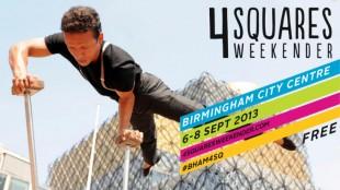 4 Squares Weekender promotional image