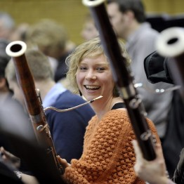 BCMG Bassoonist Gretha Tuls