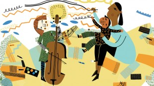 Family Arts Festival BCMG illustration
