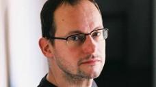 Composer David Sawer close up