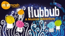 Hubbub concert promotional artwork