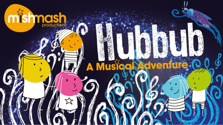 Hubbub concert promotional artwork