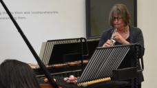 Melinda Maxwell playing at Ikon Gallery