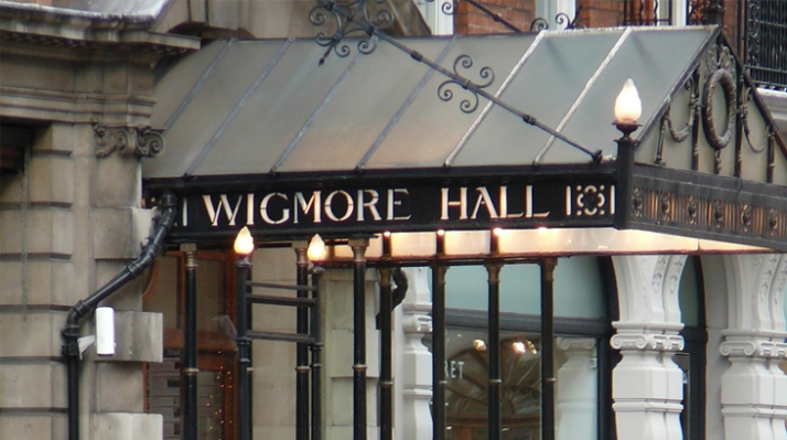 Wigmore Hall entrance