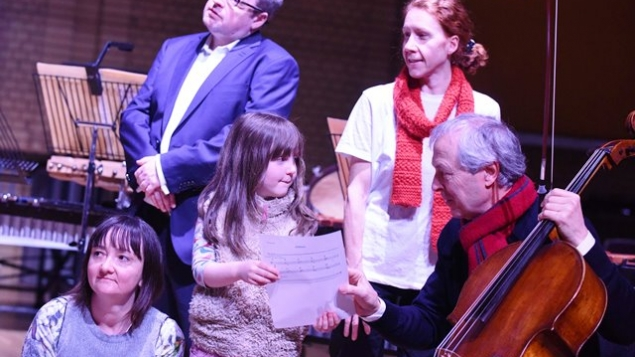 Audience members at one of our Family concerts with Cellist Ulrich Heinen
