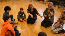 Participants at a Music Maze workshop