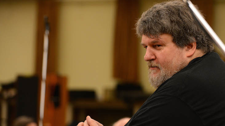 BCMG Artist-in-Association Oliver Knussen