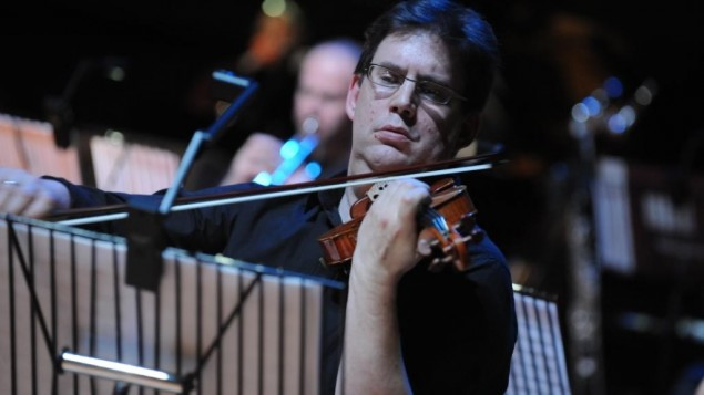 BCMG violinist Peter Campbell-Kelly