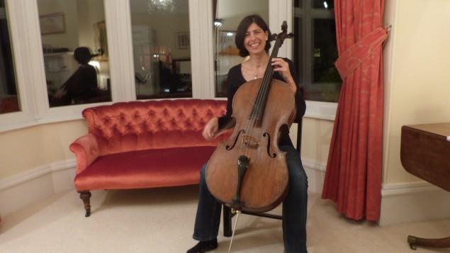 BCMG Cellist Elaine Ackers