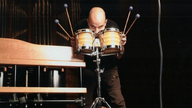 BCMG Percussionist Adrian Spillett