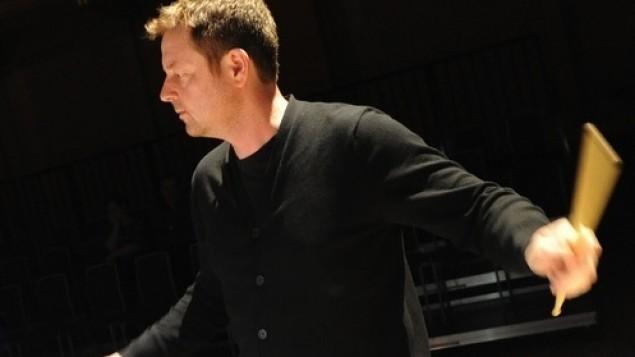 BCMG Percussionist Julian Warburton