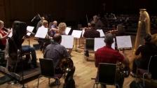 BCMG rehearse Silvina Milstein's de oro y sombra